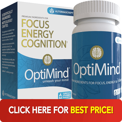 box and bottle of optimind best price
