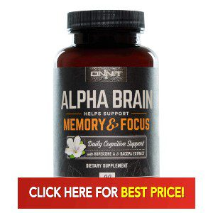 Best Price for Alpha Brain